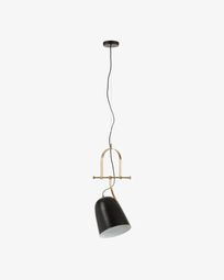 Lampe suspension Zico noir