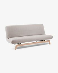 Koki sofa bed fabric grey
