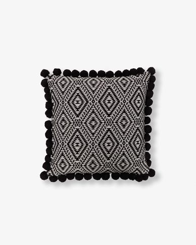 Adell cushion cover pompons