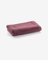 Miekki small bath towel burgundy