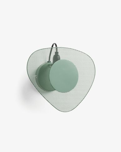 Peggy wall lamp 26 cm green