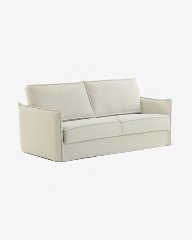 Samsa sofa bed 160 cm visco white