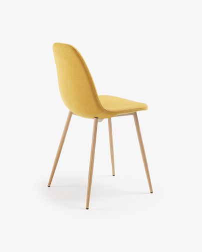 Chaise Yaren moutarde