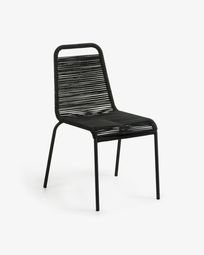 Lambton chair black