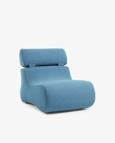 Club fauteuil donkerblauw