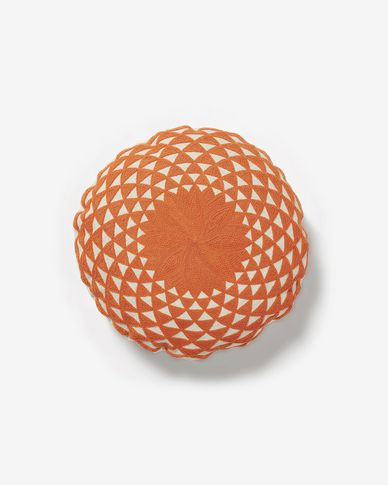 Zayla cushion cover orange