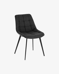 Adam dark grey chair