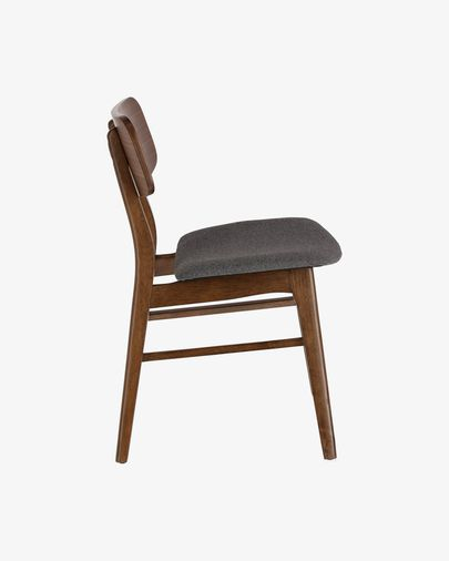 Selia chair with an walnut finish