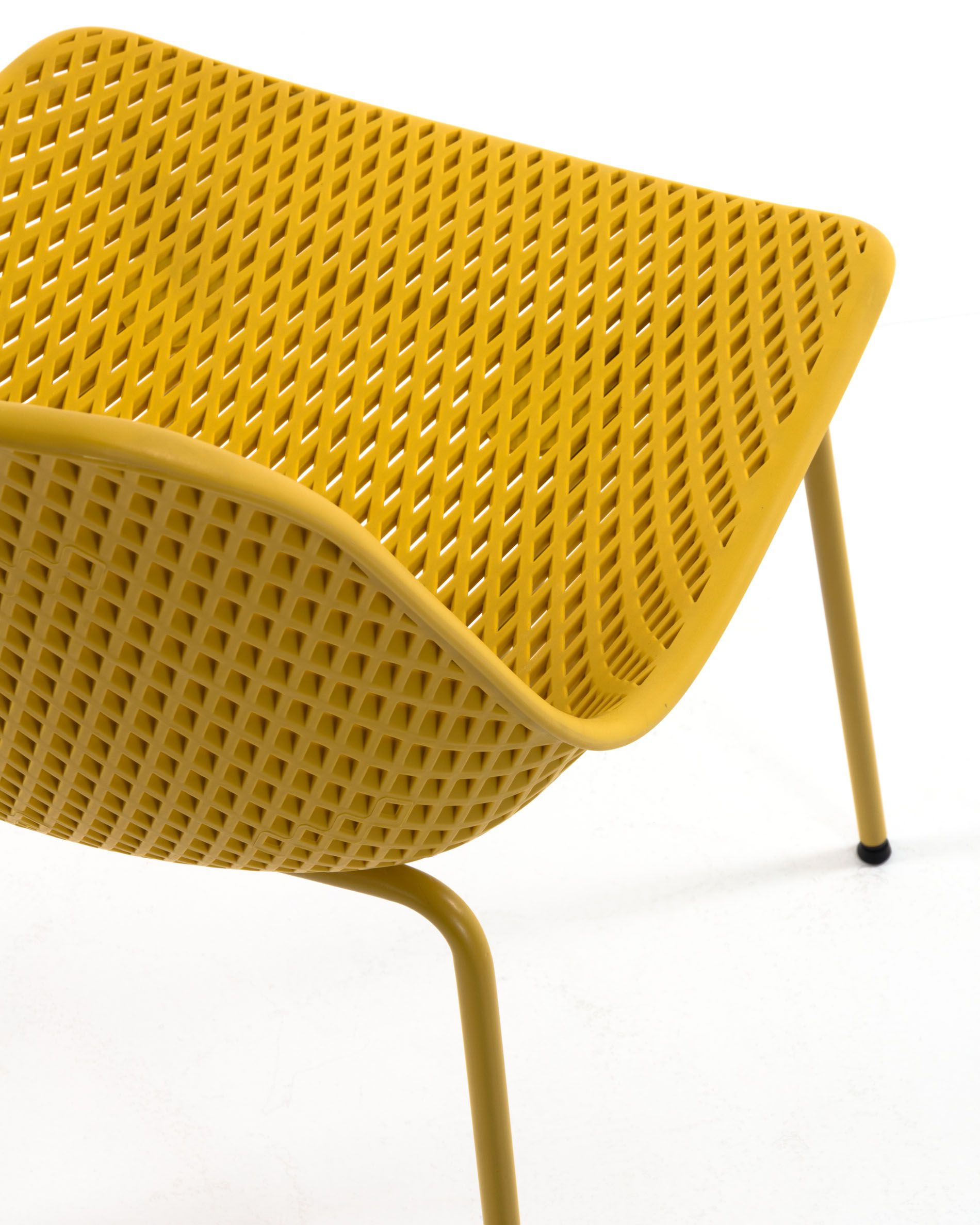 Sedia Quinby giallo | Kave Home®