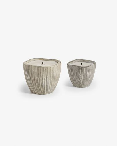 Nora set of 2 candles