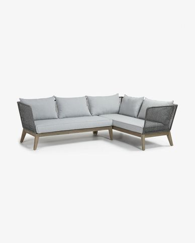 4 seaters Tucson corner sofa 238 cm