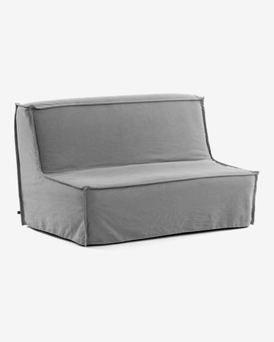 Lyanna sofa bed 140 cm grey