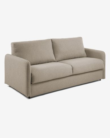 Kymoon sofa bed 140 cm visco chrono beige