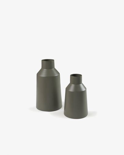 Sond set of 2 vases green