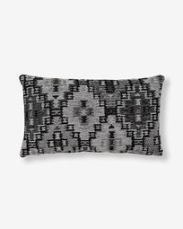 Nazca cushion cover 30 x 50 cm dark grey