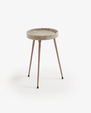 Beige Rubie side table