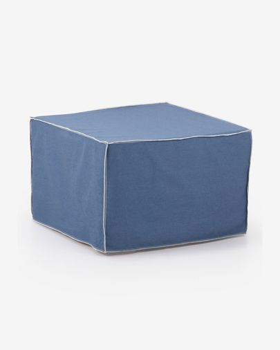 Verdi pouff bed blue
