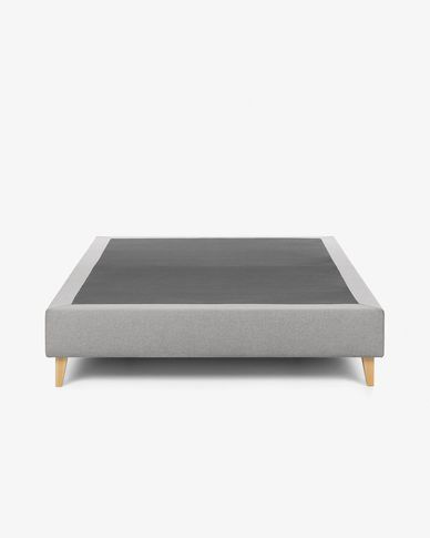 Bed base high Nikos 180 x 200 cm grey