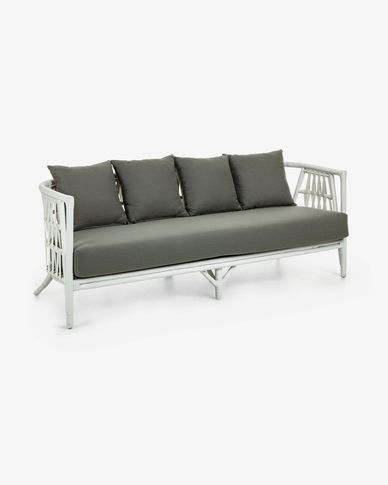 3 seaters Durga sofa 186 cm