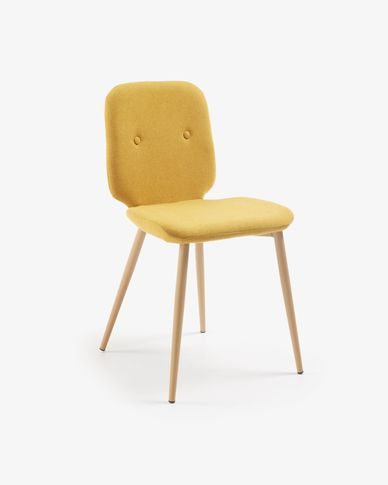 Meet chair mustard