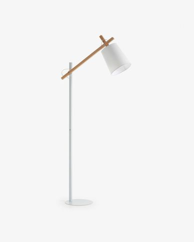 Kosta floor lamp, white