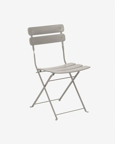 Alrick matte grey chair