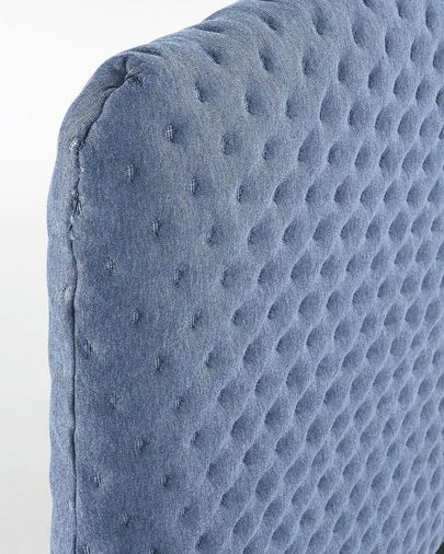 Dyla bed quilted 150 x 190 cm light blue