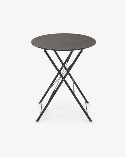 Round graphite Alrick table