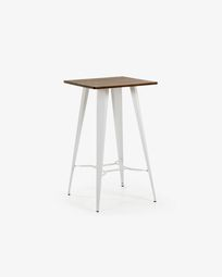 White Malira table 60 x 60 cm