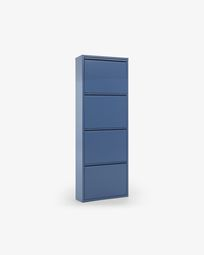 Shoe rack Ode 4 doors blue