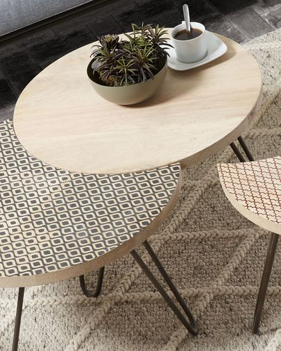 Houp set of 3 tables