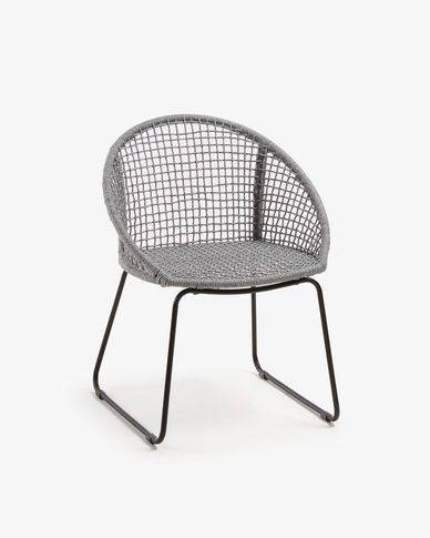 Armchair Sandrine grey