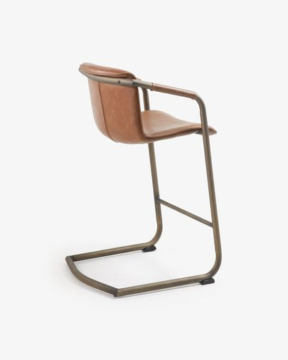 Oxid brown Tribe barstool 89 cm