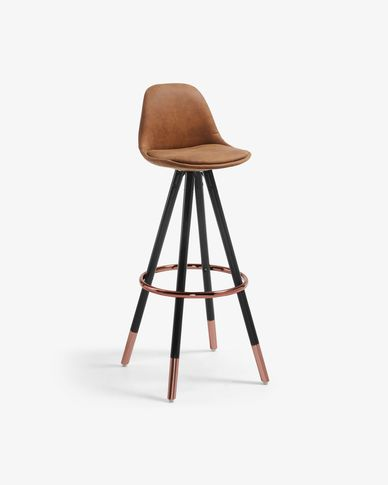 Rust brown Slad barstool