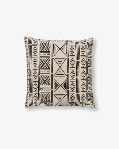 Atty tribal cushion cover beige