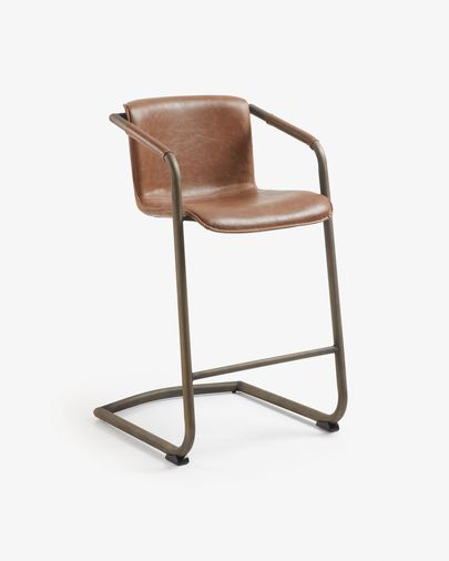 Oxid brown Tribe barstool height 63 cm