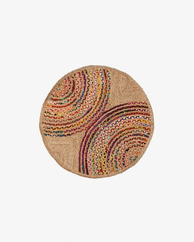 Round carpet Graciela