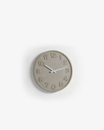 Wall clock Wenig cement