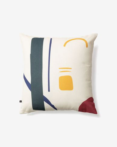 Nahieli rectangle cushion cover
