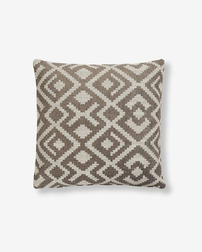 Malawi cushion cover 45 x 45 cm brown