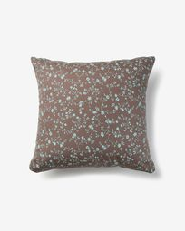 Acqua cushion cover flowers