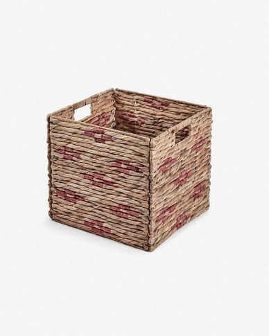Wooland basket in coral