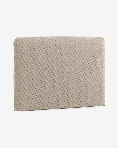 Dyla headboard quilted 108 x 76 cm beige