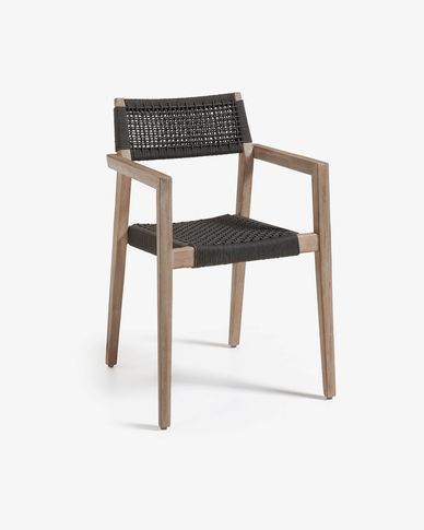 Black Vetter armchair