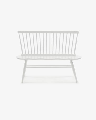 Slover Bank 120 cm, weiss