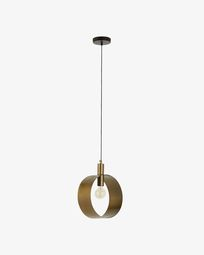 Lampe suspension Wist rond
