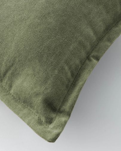 Lisette cushion cover 30 x 50 cm green