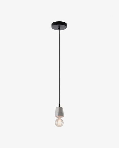 Lampe suspension Bray blanc