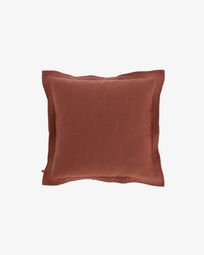 Maroon Maelina cushion cover 45 x 45 cm
