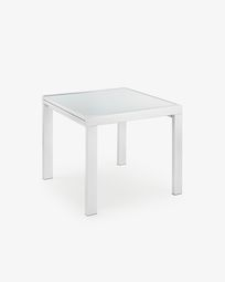 Norfolk extensible table 90 (180) x 90 cm white